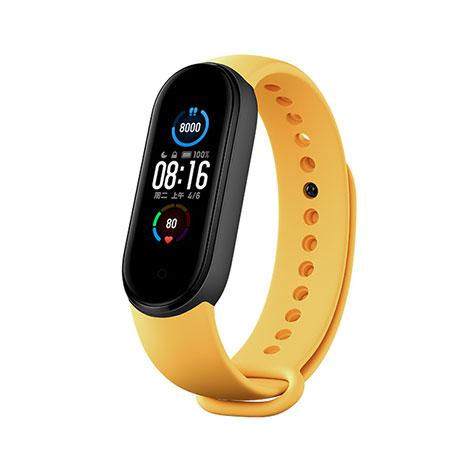 Купить Оригинальный ремешок Xiaomi Strap Yellow для фитнес-браслета Xiaomi Mi Band 5 | 6