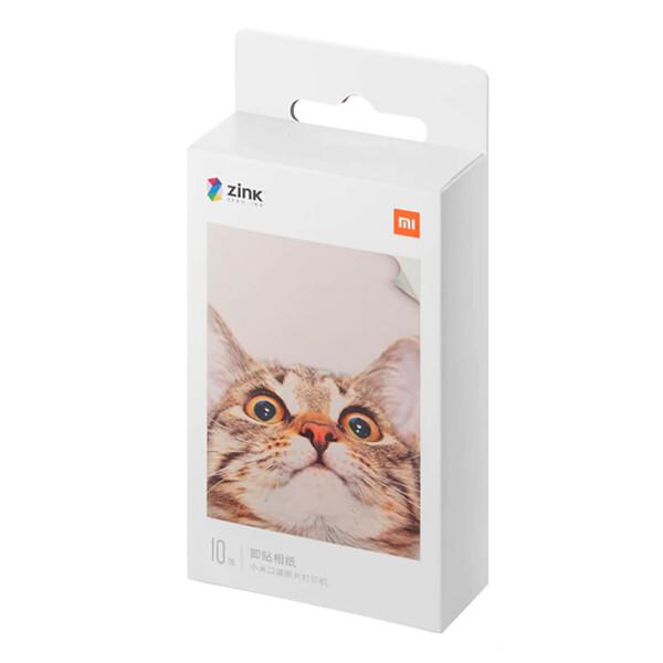 Фотобумага для принтера Xiaomi ZINK Pocket Printer Paper (10 шт)
