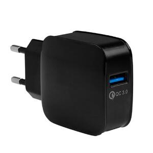 Купить Зарядное устройство Yojock Qualcomm Quick Charge 3.0 Black