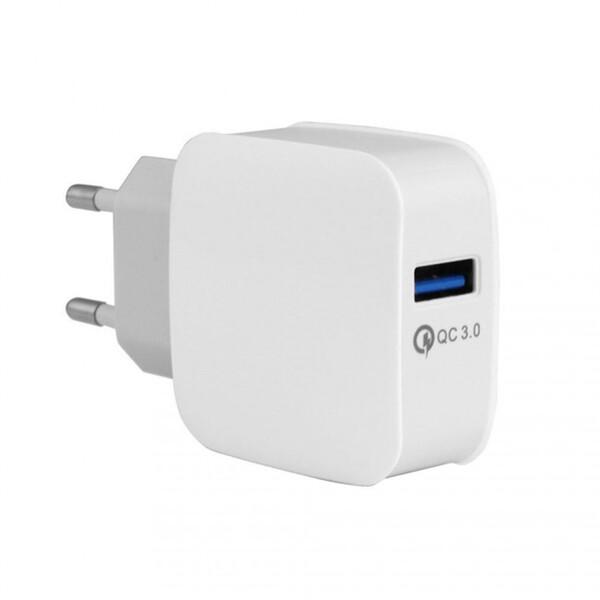Зарядное устройство iLoungeMax Yojock Qualcomm Quick Charge 3.0 White