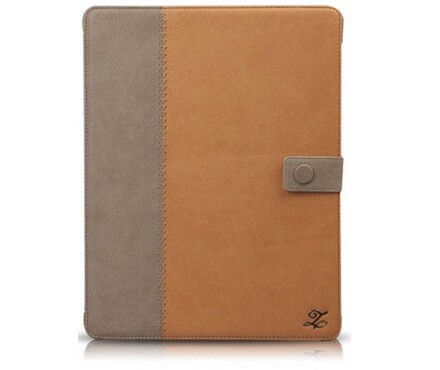 ZENUS Leather Case Masstige Leather E-Note Diary Series - Camel для iPad 4/3
