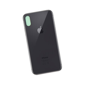 Купить Заднее стекло (Black) для iPhone X