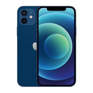 Купить Заднее стекло (Blue) для iPhone 12 mini