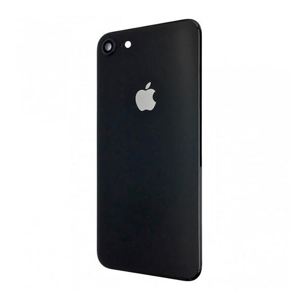 Заднее стекло (Black) для iPhone SE 2 (2020)