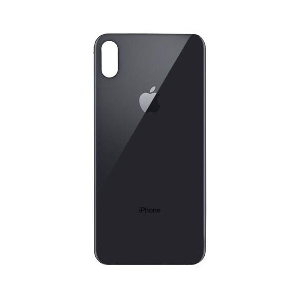 Заднее стекло (Space Gray) для iPhone XS Max