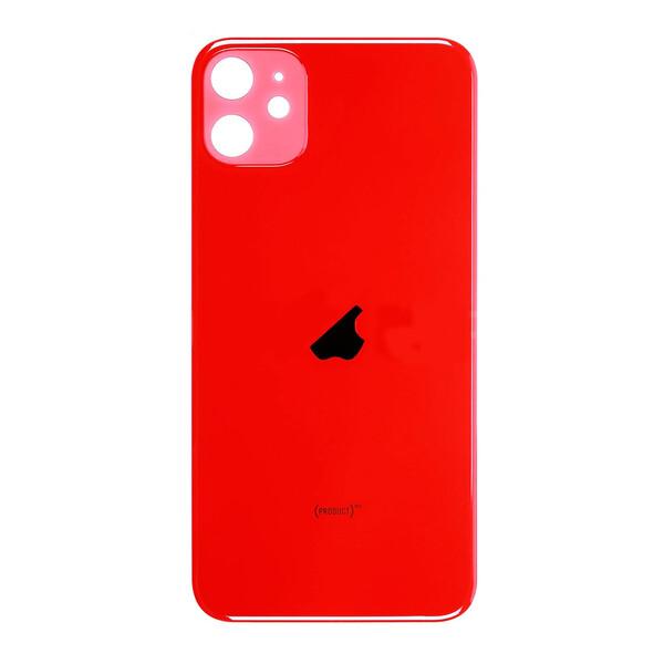 Заднее стекло (Red) для iPhone 11