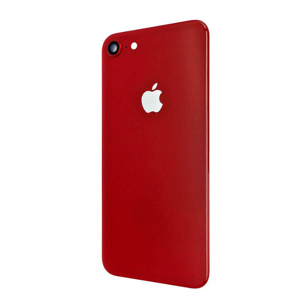 Заднее стекло (Red) для iPhone SE 2 (2020)