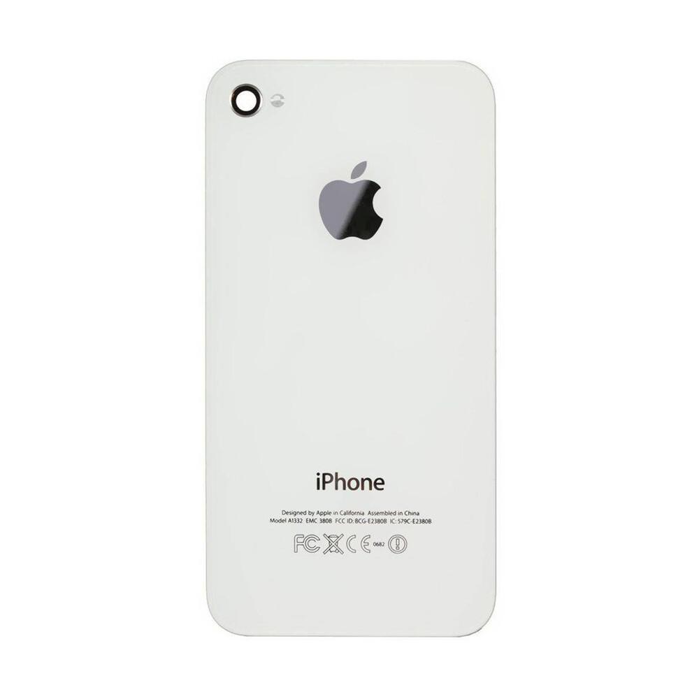 Купить Задняя крышка (панель корпуса) (White) для iPhone 4S
