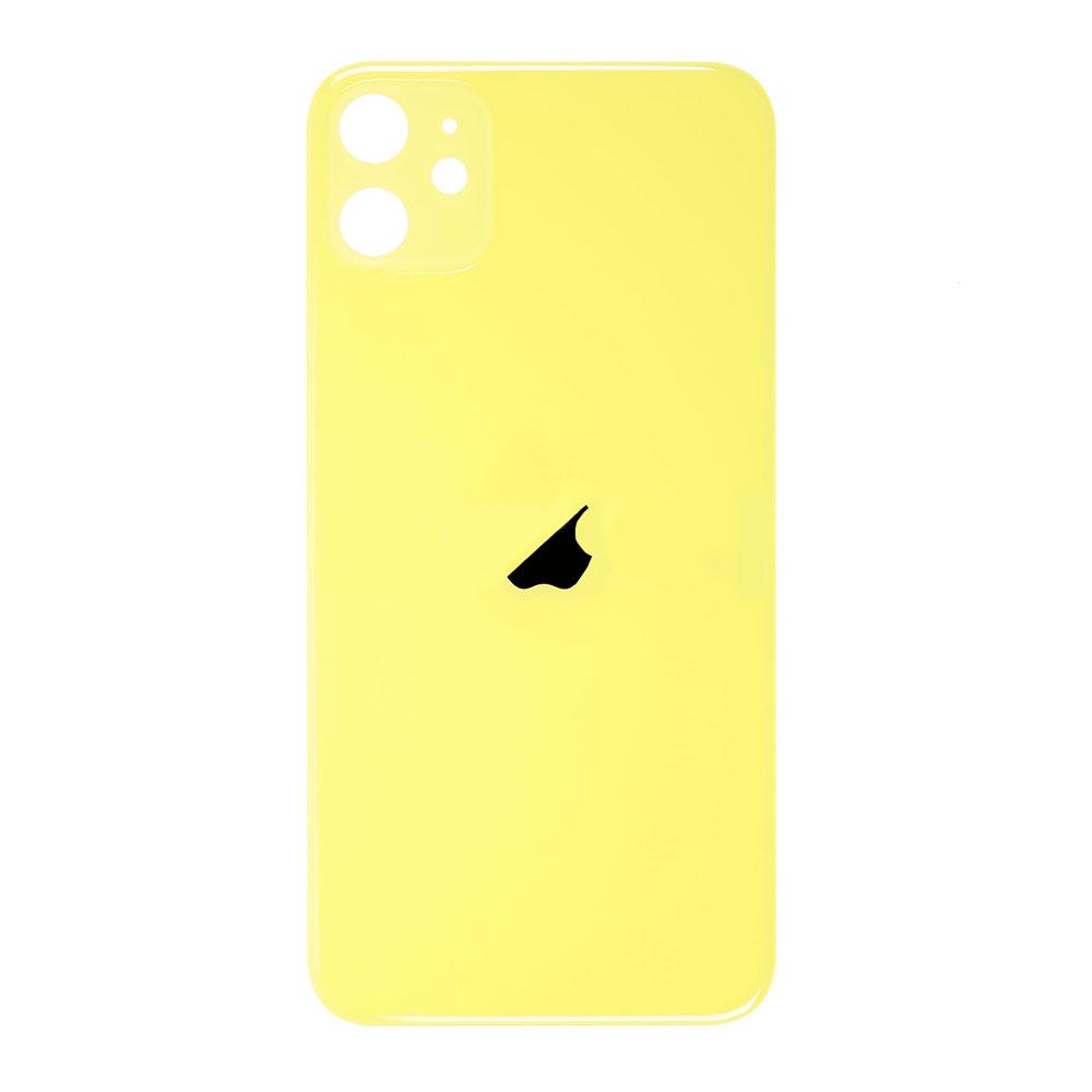 Купить Заднее стекло (Yellow) для iPhone 11