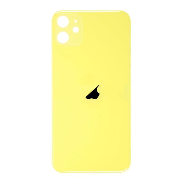 Заднее стекло (Yellow) для iPhone 11