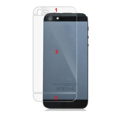 Задняя защитная пленка для iPhone 5/5S/SE
