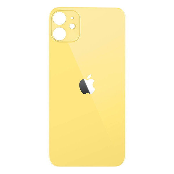 Задняя крышка (панель корпуса) Yellow для iPhone 11