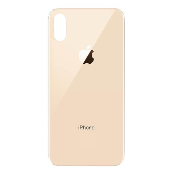 Задняя крышка (панель корпуса) Gold для iPhone XS