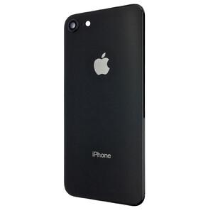 Купить Задняя крышка + стекло камеры (Black) для iPhone 8