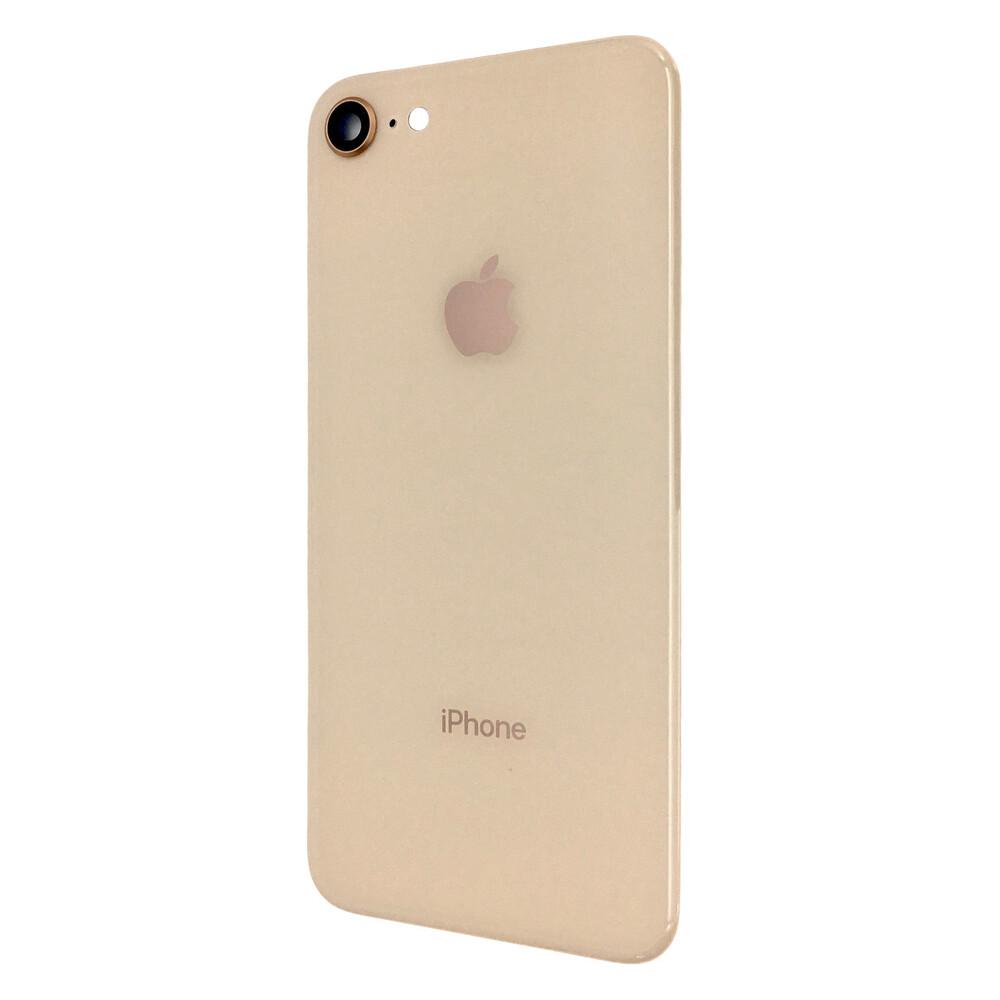 Купить Задняя крышка + стекло камеры (Gold) для iPhone 8