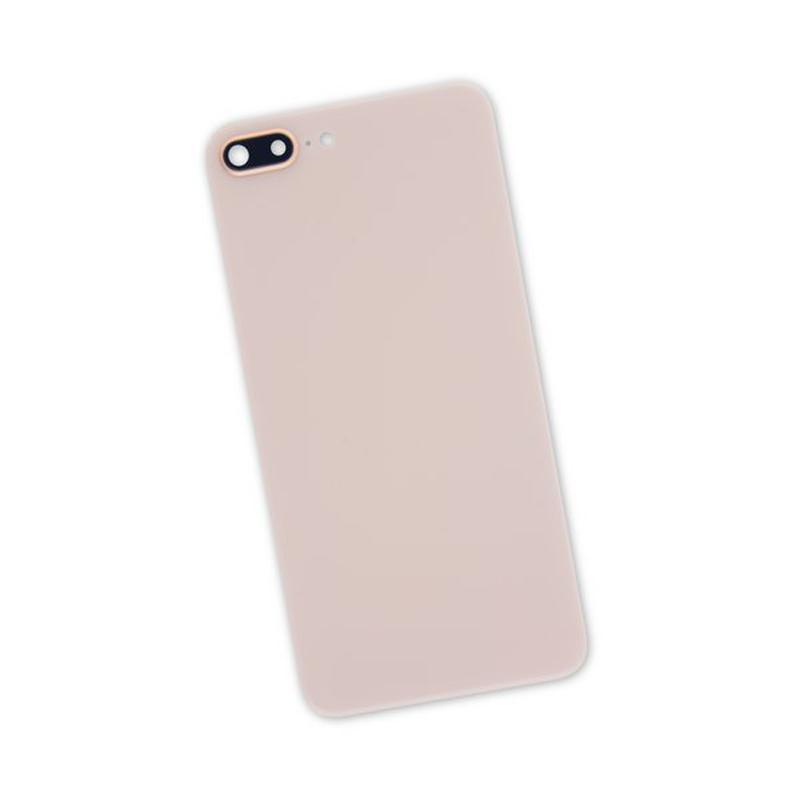 Купить Задняя крышка + стекло камеры (Gold) для iPhone 8 Plus