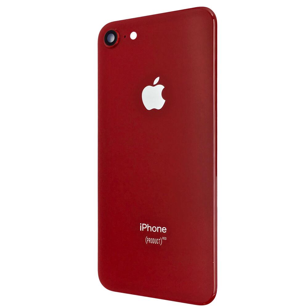 Купить Задняя крышка + стекло камеры (Red) для iPhone 8