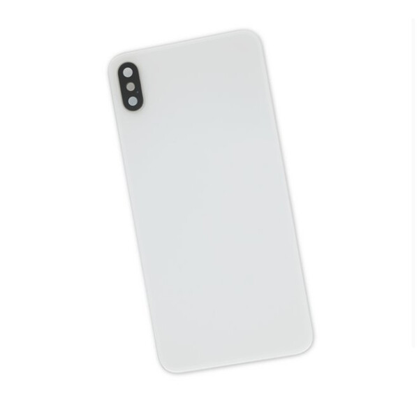 Задняя крышка + стекло камеры (Silver) для iPhone XS Max