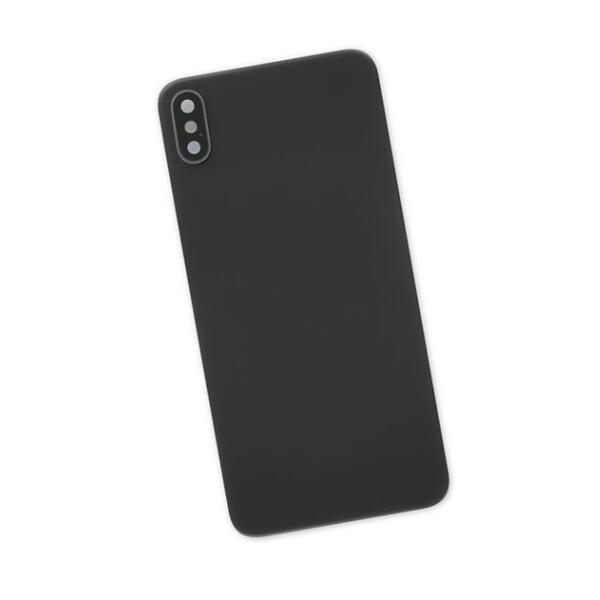 Задняя крышка + стекло камеры (Space Gray) для iPhone XS Max