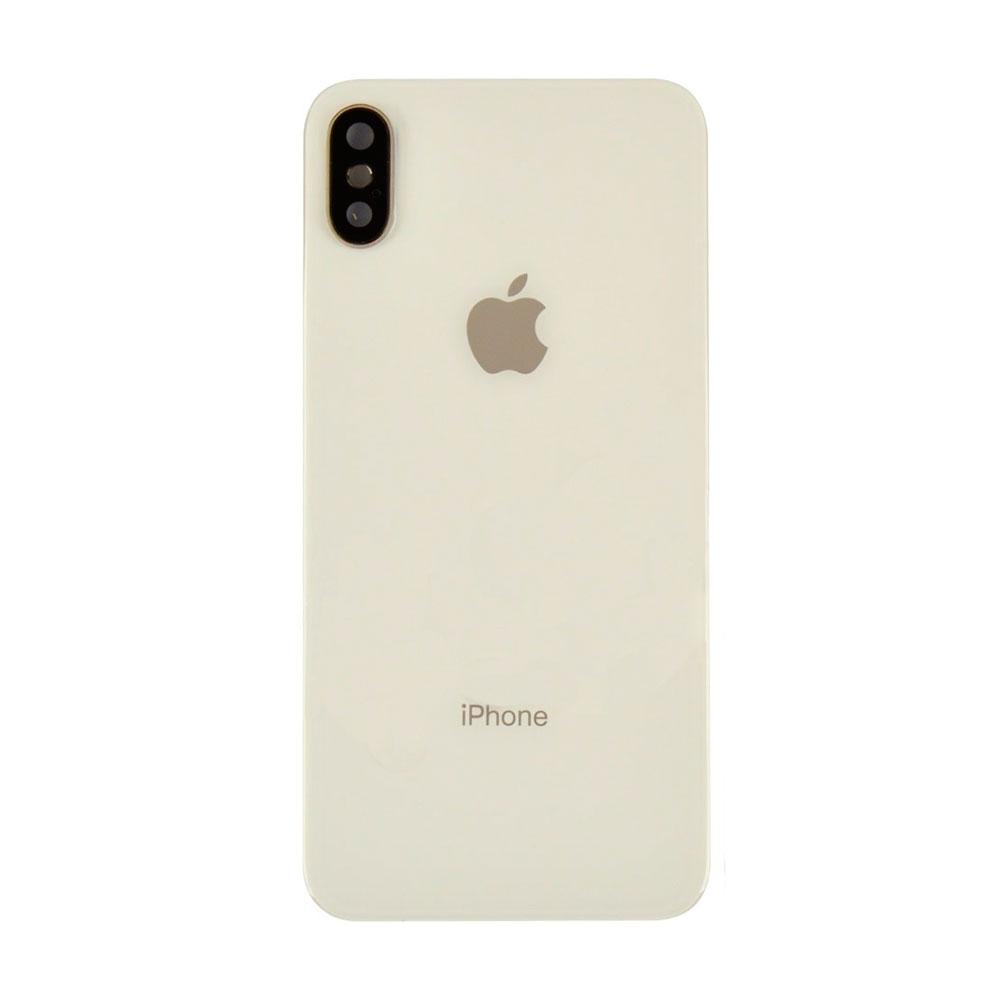 Купить Задняя крышка + стекло камеры (Silver) для iPhone X