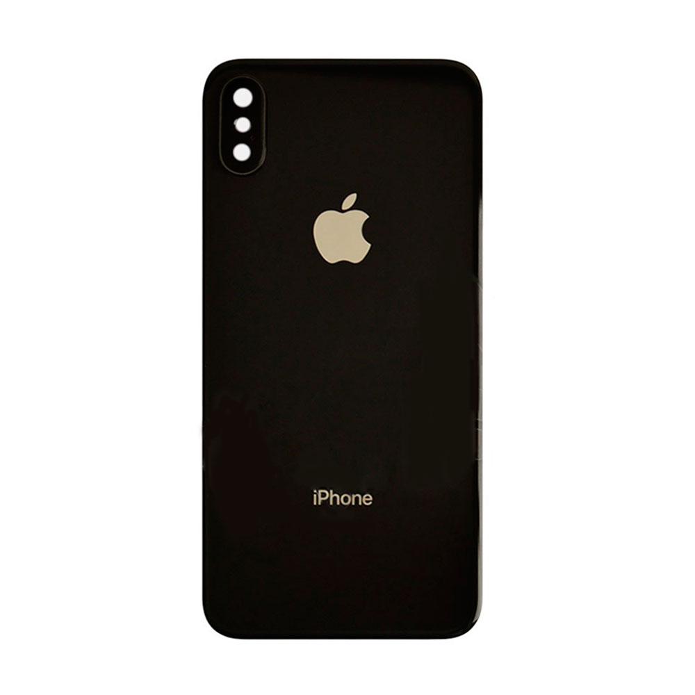 Купить Задняя крышка + стекло камеры (Space Gray) для iPhone X