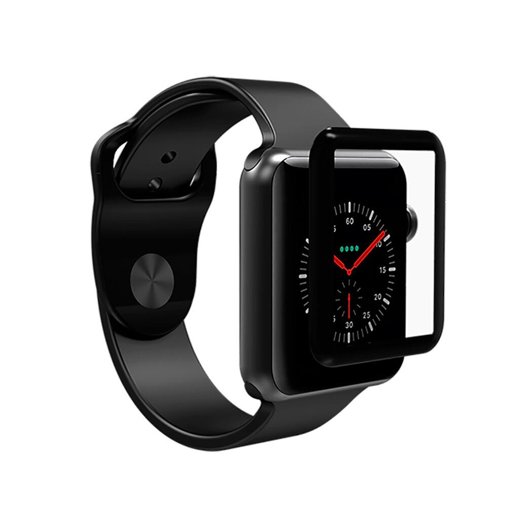 Защитное стекло ZAGG InvisibleShield Glass Curve Elite для Apple Watch 42mm Series 3 | 2 | 1