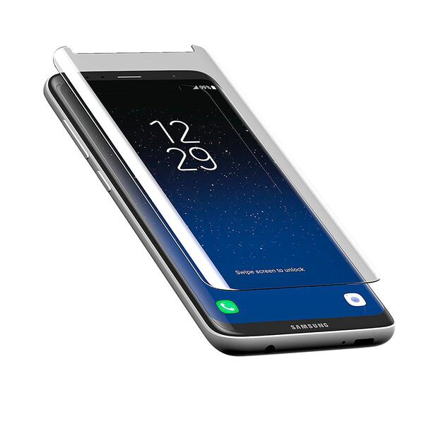 Защитное стекло ZAGG InvisibleShield Glass Curve для Samsung Galaxy S8