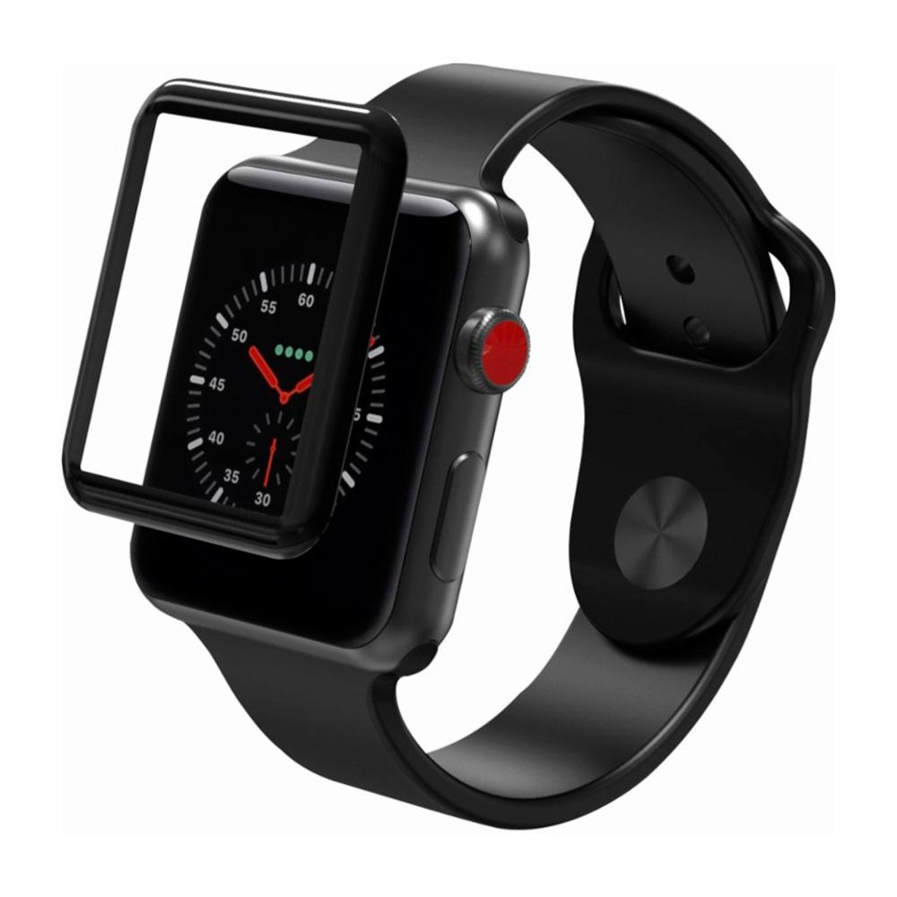 Купить Защитное стекло ZAGG InvisibleShield Glass Curve Elite для Apple Watch 38mm Series 3 | 2 | 1