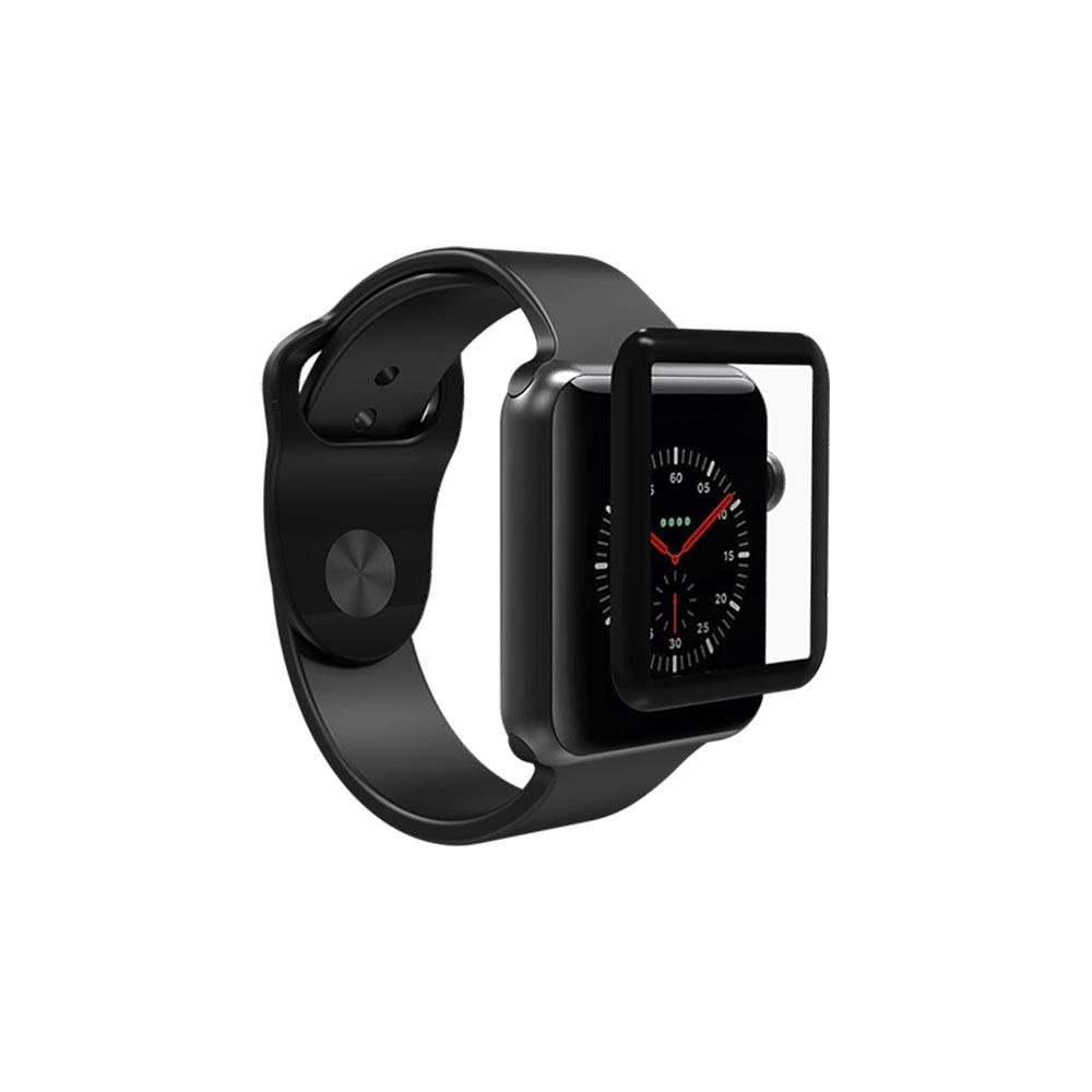 Купить Защитное стекло ZAGG InvisibleShield Glass Curve Elite Black для Apple Watch 40mm SE | 6 | 5 | 4