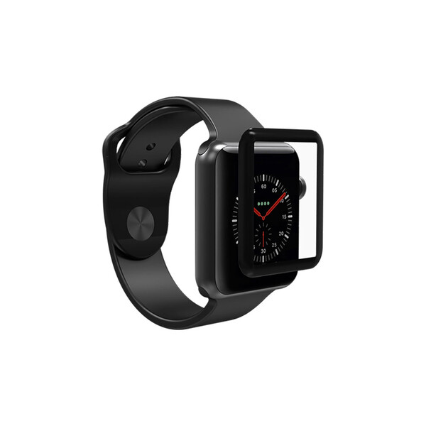 Защитное стекло InvisibleShield Glass Curve Elite Black для Apple Watch 40mm SE | 6 | 5 | 4