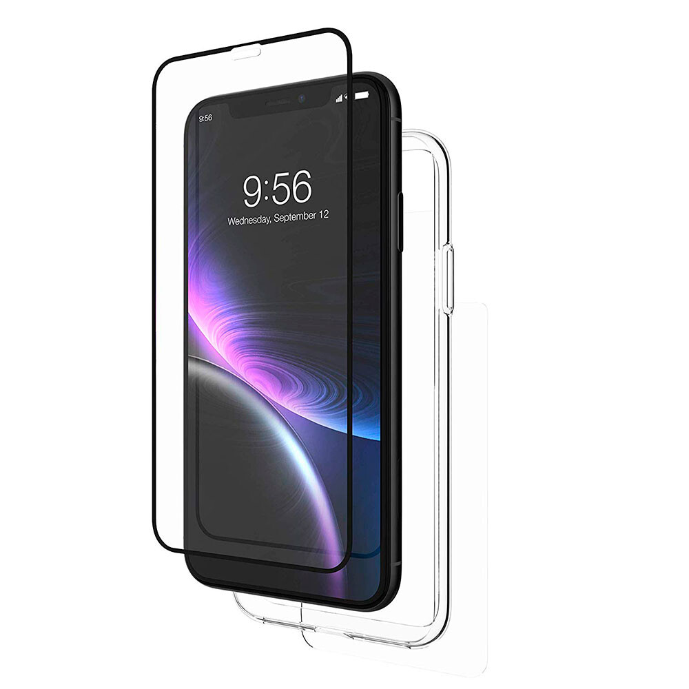 Комплект защитных стекол + бампер InvisibleShield Glass+ 360 для iPhone XR