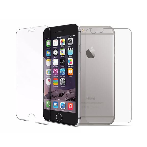 Переднее + заднее защитное стекло iLoungeMax Protective Glass для iPhone 6 | 6s