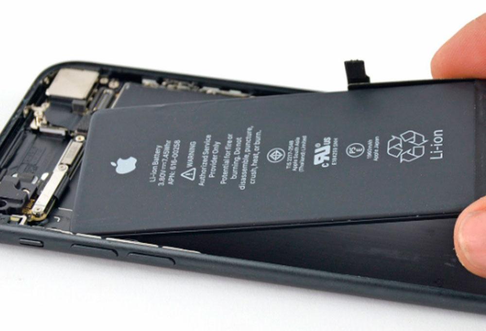 Купить Замена аккумулятора iPhone 7