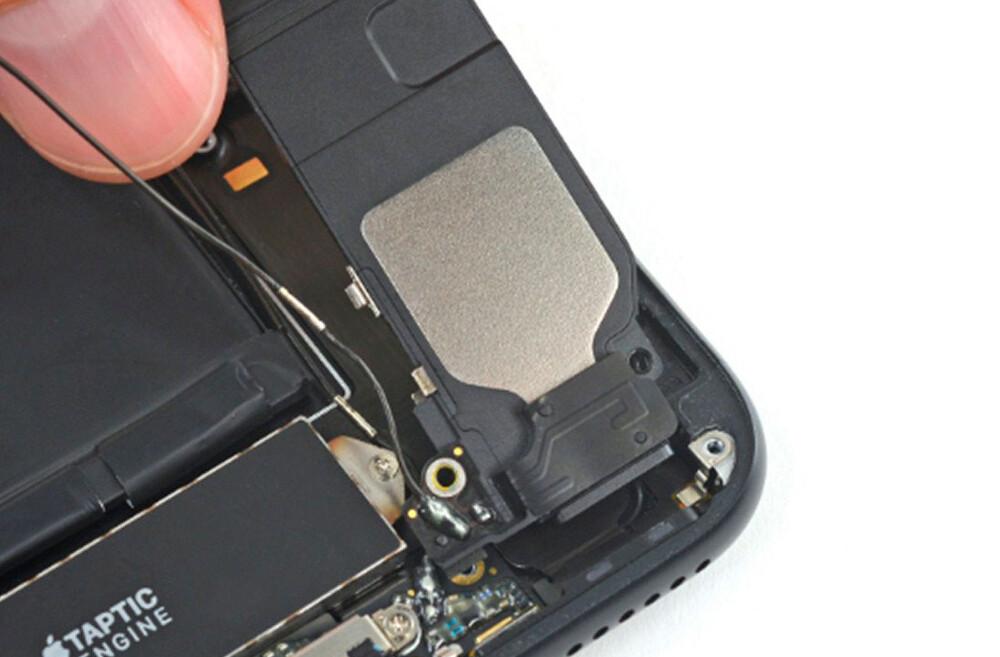 Замена полифонического (нижнего) динамика iPhone 7 Plus