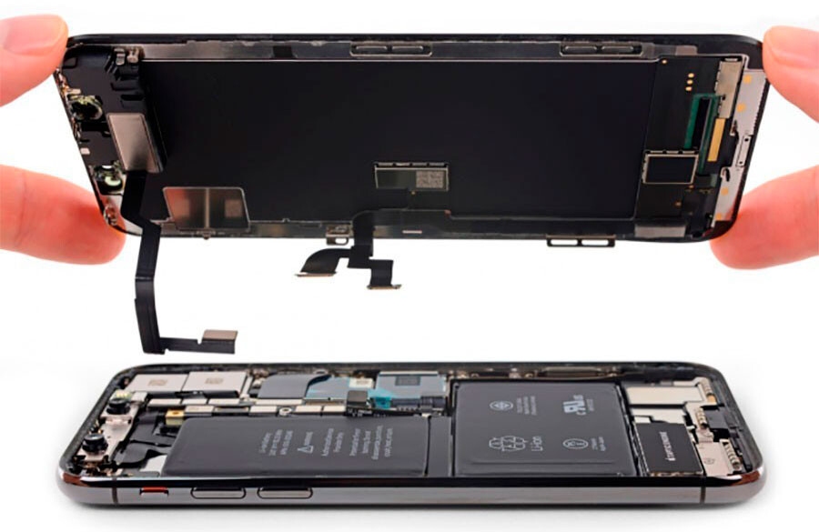Замена дисплея iPhone X (оригинал)