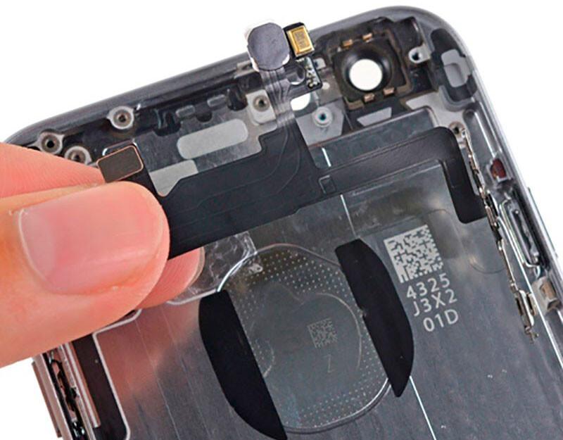 Замена кнопки Power (включения) iPhone X