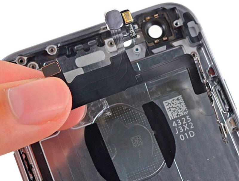 Замена кнопки Power (включения) iPhone XS Max