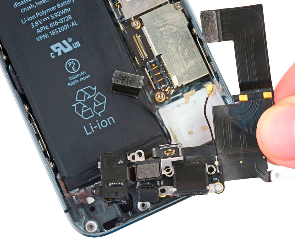 Замена разъема зарядки (синхронизации) iPhone X