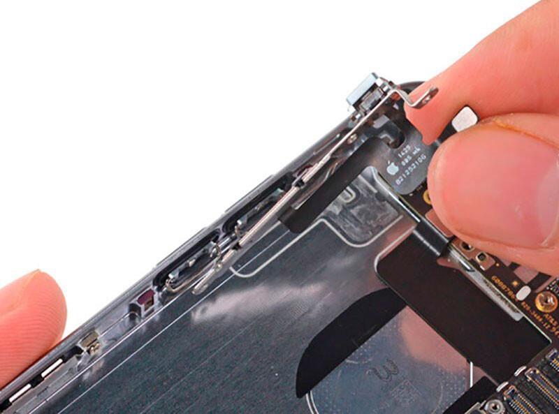 Замена шлейфа кнопок громкости iPhone X