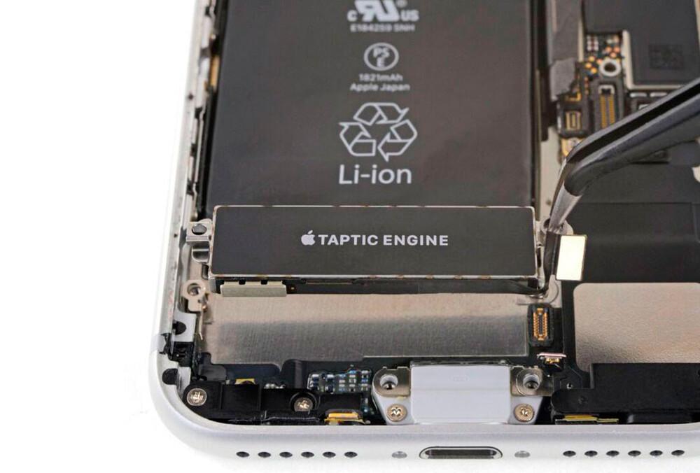Замена виброзвонка iPhone 8 Plus