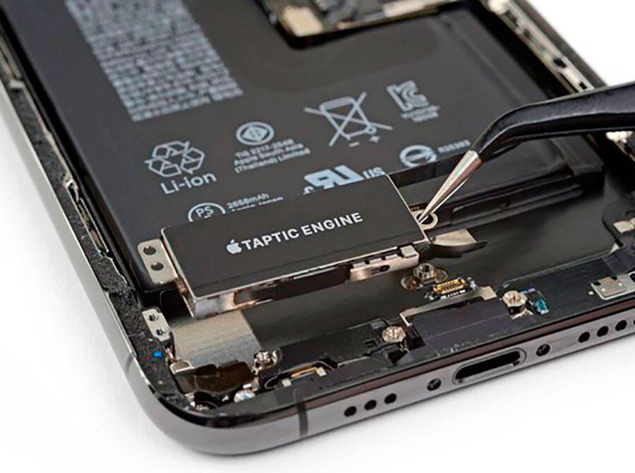 Замена виброзвонка iPhone XS Max