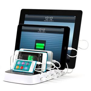 Купить Мульти-зарядка GRIFFIN PowerDock 5 для iPhone/iPad/iPod