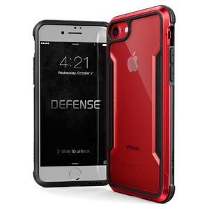 Купить Защитный чехол X-Doria Defense Shield Red для iPhone 7/8