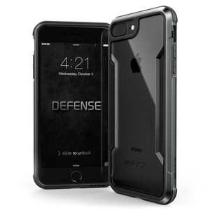 Купить Защитный чехол X-Doria Defense Shield Space Gray для iPhone 7 Plus/8 Plus