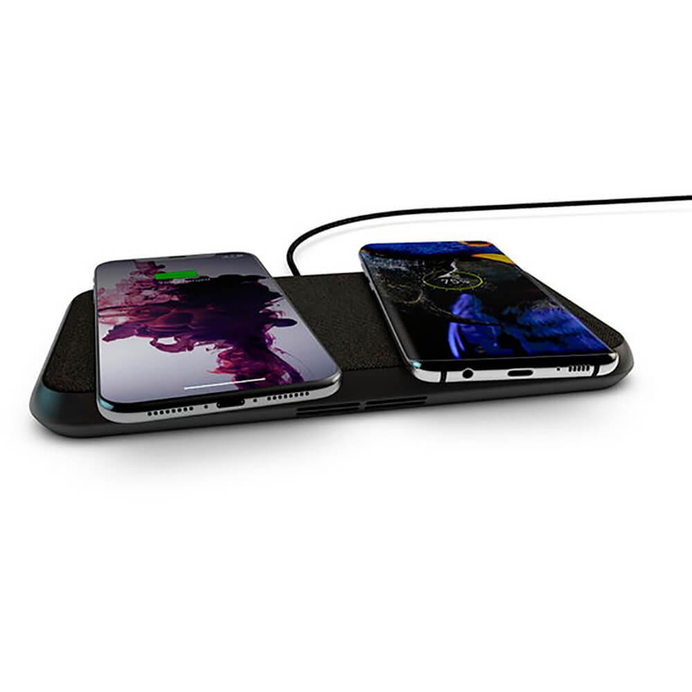Купить Беспроводная зарядка для iPhone | AirPods Zens Liberty Black 30W