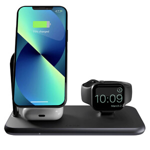 Док-станция Zens Magnetic + Watch Wireless Charger with MagSafe для iPhone | AirPods | Apple Watch