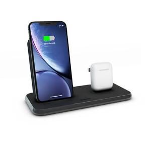 Купить Беспроводная док-станция Zens Stand+Dock Aluminium Wireless Charger Black 10W