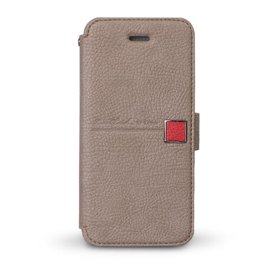 Zenus Masstige Color Point Diary Collection Grey для iPhone 5/5S/SE