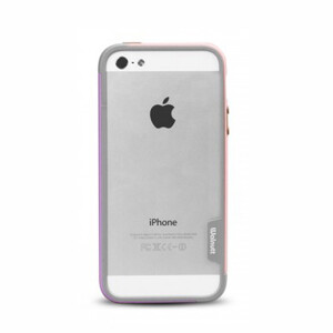 Купить Бампер Zenus Walnutt Bumper Trio Pink/Violet для iPhone 5/5S/SE