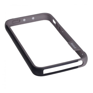 Купить Бампер Zenus Walnutt Bumper Trio Black/Dark Gray для iPhone 5/5S/SE